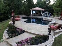 Stamped Concrete Award, Swimming Pool Concrete Patios Greystone Masonry Inc Stafford, VA
