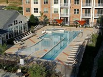 Pool Deck, Outdoor Overlay Concrete Pool Decks Sundek of Washington Chantilly, VA