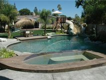 Pool Deck Concrete Pool Decks The Green Scene Chatsworth, CA