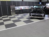Checkerboard, Garage Floor Concrete Walkways Sundek of San Antonio San Antonio, TX