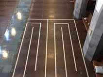 Decorative Concrete Resurfacing, Church Floor, Concrete Pattern Concrete Walkways Decorative Concrete Resurfacing Ballwin, MO