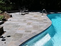Salzano Custom Concrete, Faux Bluestone, Pool Deck Concrete Walkways Salzano Custom Concrete Aldie, VA