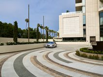 Waldorf Astoria, Decorative Concrete Concrete Walkways Trademark Concrete Systems, Inc. Anaheim, CA