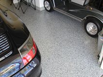 Black And White, Aggregate Garage Floors Surfacing Solutions Inc Temecula, CA