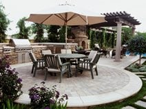 dining patio layout