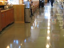 Store, Polish, Polished Polished Concrete HTC Professional Floor Systems Knoxville, TN