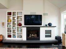 Cast Hearth, Cast Mantel Site SunWorks Decorative Concrete LLC Annville, PA