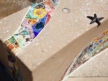 Concrete Mosaic Site T.B. Penick & Sons, Inc. San Diego, CA