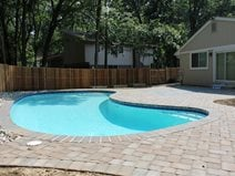 Concrete Paver Pool Deck NRC Landscape Construction Vienna, VA