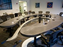Conference Table, Horseshoe Table Site Dylan Myers Design Columbia, MD