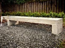 Sítio Bench contemporânea Turning Stone Projeto Atlanta, GA