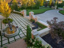 Elegant Courtyard, Entry Courtyard Site Bomanite Toronto, LTD Vaughan, ON