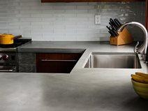 Gray Countertop Site Concrete Wave Design Anaheim, CA