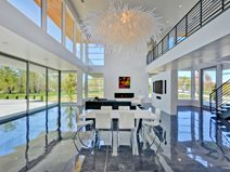 Modern Great Room, Concrete Floor Coating Site Westcoat San Diego, CA