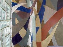 Multi Colored, Ribbons Site Everlast Concrete, Inc Steger, IL