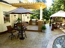 Patio Designed for Outdoor Entertaining