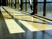 Polished Concrete, High School Site Lundeen Simonson Spokane, WA