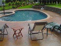 Pool Deck, Outdoor Furniture Site Artistic Concrete Riverside, RI