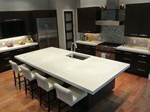 White, Island, Kitchen Site Hard Topix Jenison, MI