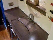Wine Bar Sink Site Cheng Design Berkeley, CA