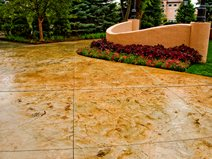Stamped Concrete Groninger Concrete Colorado Springs, CO