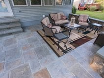 Stamped Concrete Patio Ideas Designs The Network