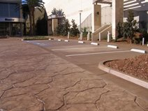 Rock Pattern, Brown Stamped Concrete Concepts In Concrete Const. Inc. San Diego, CA