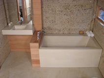 Tubs and Showers Pourfolio Custom Concrete San Diego, CA
