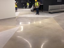At&t Center, Polished Floors Site K-Stone San Antonio, TX