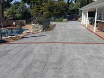 Faux Wood, Concrete Wood Site Envision Concrete Escondido, CA