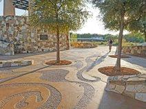 Mission Concepcion Concrete, San Antonio Park Site Sundek of San Antonio San Antonio, TX