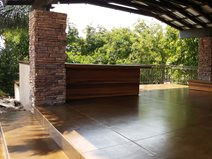 Stained Concrete, Concrete Overlay, Outdoor Site Envision Concrete Escondido, CA