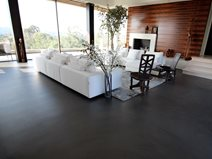 Concrete Living Room Floor, San Diego Site Life Deck Coating Installations San Diego, CA