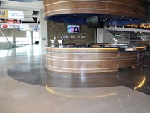 Denny Sanford Premier Center Polished Concrete Bulach Custom Rock Inver Grove Heights, MN