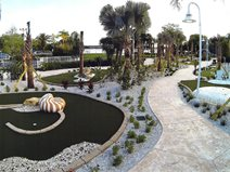 Grand Beach Putt Putt At Diamond Resorts Site Edwards Concrete Company Winter Garden, FL