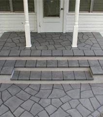 Stamped Concrete Porch And Entries The Network