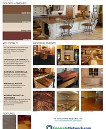 Old World Design Style Site ConcreteNetwork.com ,