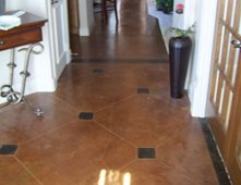 Brown Floors Pictures Gallery The Concrete Network