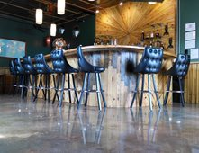 Commercial floors pictures gallery the concrete network for Commercial bar flooring