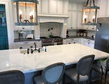Faux Marble, White Kitchen Island Concrete Countertops Price Concrete  Studio Orlando, FL