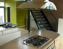 Island, Clean Concrete Countertops DEX Industries Atlanta, GA