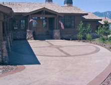 Concrete Driveways Pictures - Gallery - The Concrete Network