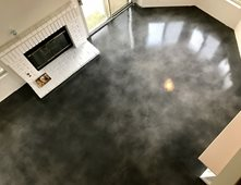 Black Stained Concrete Floors. Gray Floor Stained Concrete Floors KB  Staining Norco CA Pictures Gallery