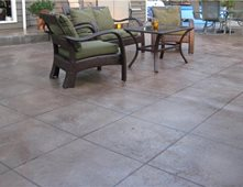 Concrete Patios Pictures Gallery The Concrete Network
