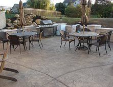 Etonnant Concrete Patio, Textured Concrete Patio Concrete Patios Ju0026H Decorative  Concrete LLC Uniontown, ...