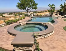Concrete Pool Decks Pictures Gallery The Concrete Network