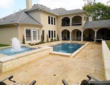 Concrete Pool Decks Pictures Gallery The Concrete Network
