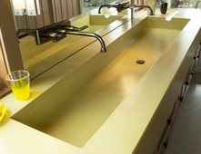 Concrete Sinks concrete sinks pictures - gallery - the concrete network