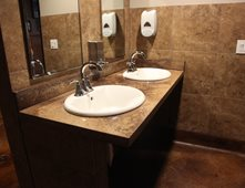restaurant bathroom sinks concrete sinks pictures gallery the concrete network 14203