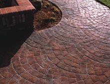 concrete stone circles